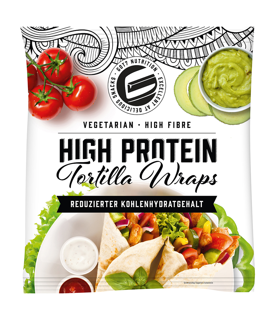 GOT7 Protein Tortilla Wraps, 280g