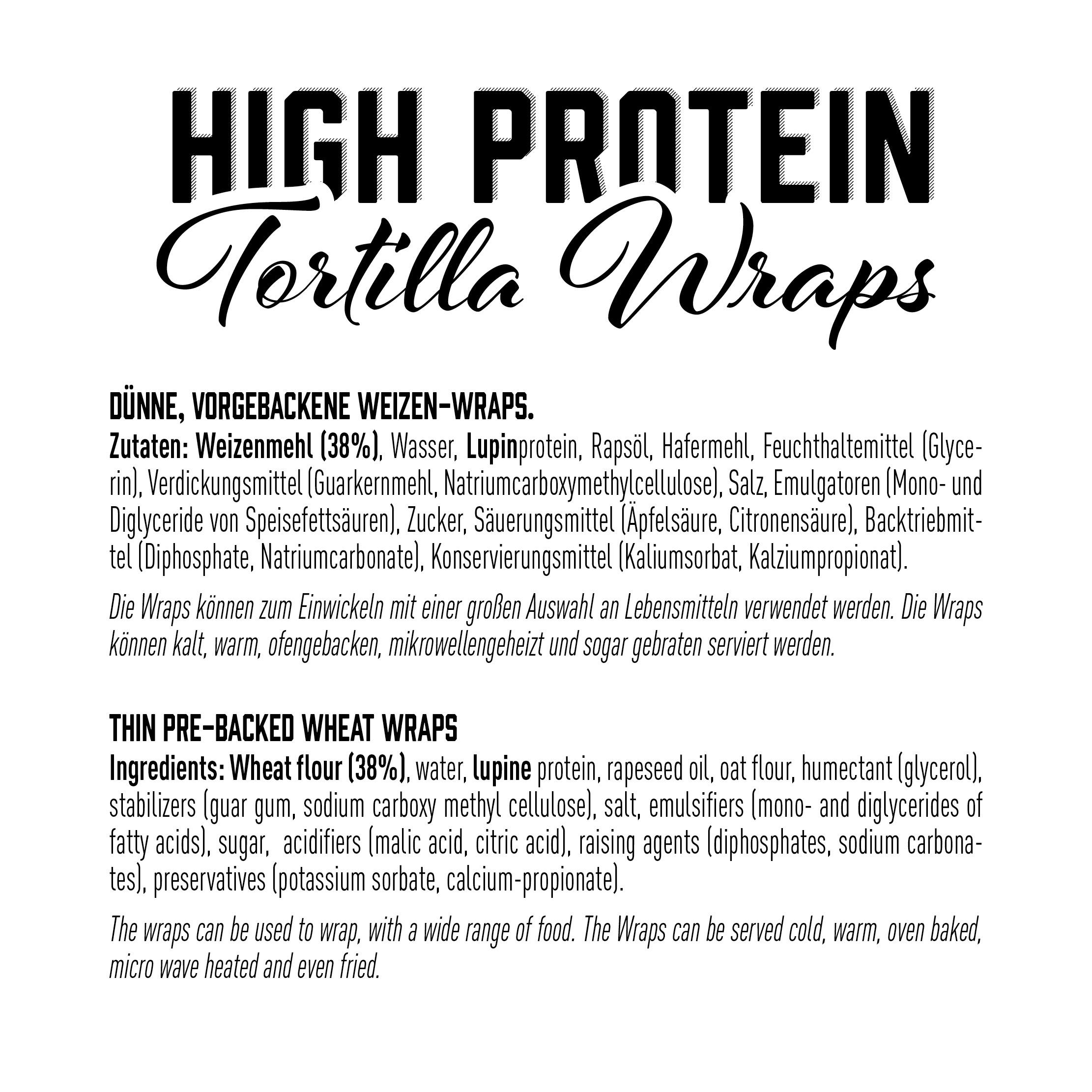 GOT7 Protein Tortilla Wraps, 280g
